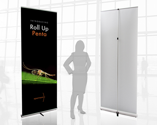Penta Roll-Up Banner Stand